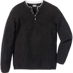 Swetry męskie: Sweter Regular Fit bonprix czarny