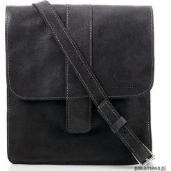 Skórzana torba męska Paolo Peruzzi ob-01a. Czarne torebki klasyczne damskie Pakamera, ze skóry, na ramię. Za 199,00 zł.