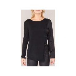 Swetry Armani jeans  JOUDES. Czarne swetry klasyczne damskie marki Armani Jeans, z jeansu. Za 804,30 zł.