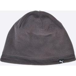 Puma - Czapka dwustronna. Szare czapki zimowe męskie Puma, na zimę, z dzianiny. W wyprzedaży za 39,90 zł.