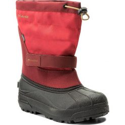 Buty zimowe chłopięce: Śniegowce COLUMBIA – Youth Powderbug Plus II BY1326 Mountain Red/Maple 613
