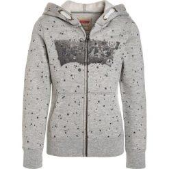 Levi's® ZIPPER CLARA Bluza rozpinana gris chiné. Brązowe bluzy dziewczęce rozpinane marki Levi's®, z bawełny. W wyprzedaży za 207,20 zł.