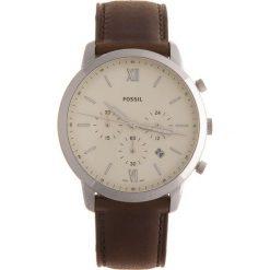 Zegarek FOSSIL - Neutra Chrono FS5380  Brown/Silver. Różowe zegarki męskie marki Fossil, szklane. Za 509,00 zł.