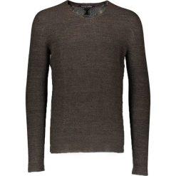 Swetry klasyczne męskie: Sweter w kolorze khaki