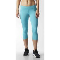 Adidas Spodnie damskie Response 3/4 Tight niebieskie r. XS (B47767). Niebieskie spodnie sportowe damskie marki Adidas, xs. Za 135,11 zł.