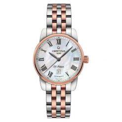 PROMOCJA ZEGAREK CERTINA DS Podium Lady Automatic. Białe zegarki damskie CERTINA, ze stali. W wyprzedaży za 2587,20 zł.
