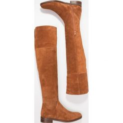 Mint&berry Muszkieterki cognac. Brązowe buty zimowe damskie marki mint&berry, z materiału. W wyprzedaży za 407,20 zł.