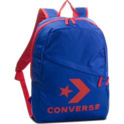 Plecak CONVERSE - 10008091-A03  Niebieski. Niebieskie plecaki męskie Converse, z materiału, sportowe. W wyprzedaży za 119,00 zł.