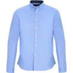 Jasnoniebieska Koszula Fixed. Czarne koszule męskie marki Born2be, l, z aplikacjami, z dresówki. Za 79,99 zł.