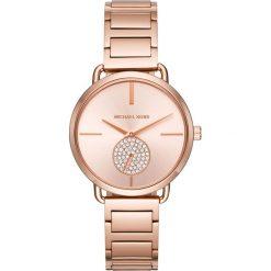 Zegarek MICHAEL KORS - Portia MK3640 Rose Gold/Rose Gold. Czerwone zegarki damskie Michael Kors. Za 1150,00 zł.