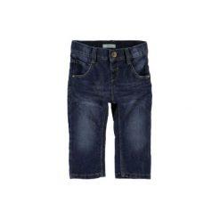 Name it Boys Spodnie Jeans Alex dark blue denim. Niebieskie spodnie chłopięce Name it, z bawełny. Za 68,80 zł.