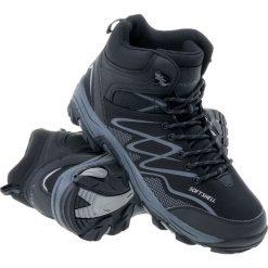 Buty trekkingowe męskie: MARTES Buty męskie Ronn Mid black/silver/dark grey r. 43