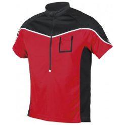 Etape Koszulka Rowerowa Męska Polo Red/Black L. Czarne odzież rowerowa męska marki Etape, l, z krótkim rękawem. W wyprzedaży za 94,00 zł.