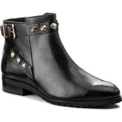 Botki SERGIO BARDI - Avio FW127287317BM 101. Czarne buty zimowe damskie Sergio Bardi, ze skóry, na obcasie. W wyprzedaży za 219,00 zł.