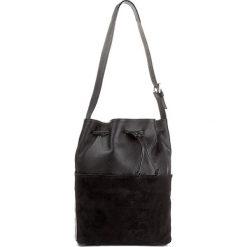 Torebka CREOLE - K10417  Dolaro Z. Czarny. Czarne torebki worki Creole, ze skóry. W wyprzedaży za 239,00 zł.