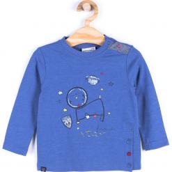 Koszulka. Niebieskie t-shirty chłopięce z długim rękawem CATRONAUTA, z bawełny. Za 29,90 zł.