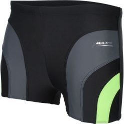 Kąpielówki męskie: Aqua-Speed Kąpielówki Sasha czarne r. XXL (421-138)