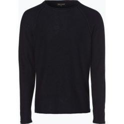 Review - Sweter męski, niebieski. Niebieskie swetry klasyczne męskie marki Review. Za 159,95 zł.