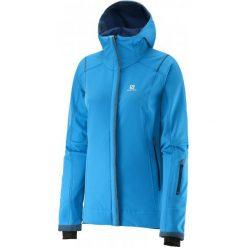 Salomon Kurtka Zimowa Snowcube Jacket W Methyl Blue S. Niebieskie kurtki damskie zimowe Salomon, s, z materiału. W wyprzedaży za 529,00 zł.