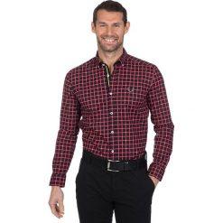"""Koszule męskie na spinki: Koszula """"Lost"""" w kolorze czerwono-granatowym"""