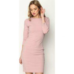 Różowa Sukienka Seduce. Czerwone sukienki mini marki Born2be, uniwersalny. Za 69,99 zł.