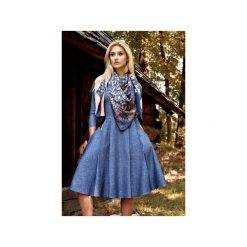 Sukienki: Sukienka ZUZA Midi Denim