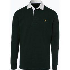 Polo Ralph Lauren - Męska bluza nierozpinana, zielony. Zielone bejsbolówki męskie Polo Ralph Lauren, l, z haftami. Za 659,95 zł.