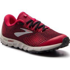 Buty BROOKS - PureGrit 7 120280 1B 688 Pink/Black/Grey. Czerwone buty do biegania damskie marki Brooks, z materiału. W wyprzedaży za 339,00 zł.