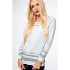 Sweter z wiązaniem z tyłu jasnoniebieski S13. Niebieskie swetry klasyczne damskie Fasardi, s. Za 59,00 zł.