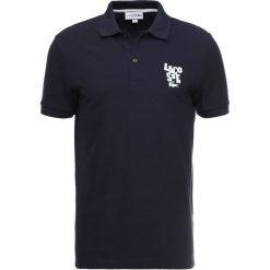 Lacoste Koszulka polo marine. Szare koszulki polo marki Lacoste, z bawełny. Za 459,00 zł.