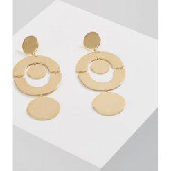 Kolczyki damskie: J.CREW FLAT DISC Kolczyki goldcoloured