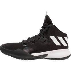 Adidas Performance DUAL THREAT 2017 Tenisówki i Trampki wysokie core black/footwear white/grey four. Czarne tenisówki męskie adidas Performance, z materiału. Za 269,00 zł.