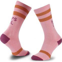 Skarpety Wysokie Damskie STANCE - Heaps Cool W556D17HEA Pink. Czerwone skarpetki damskie Stance, z bawełny. Za 69,00 zł.