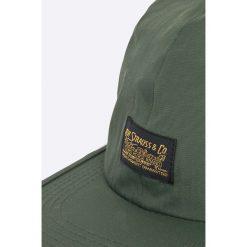 Levi's - Czapka. Brązowe czapki z daszkiem męskie marki Levi's®, z poliamidu. W wyprzedaży za 69,90 zł.