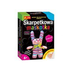 Przytulanki i maskotki: RANOK Skarpetkowa maskotka, króliczek – 15100082