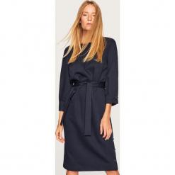 Elegancka sukienka - Granatowy. Czarne sukienki balowe marki bonprix. Za 139,99 zł.