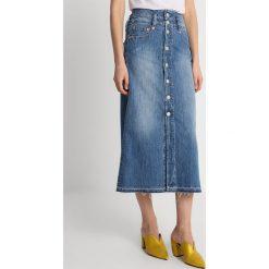 Herrlicher TRINITY STRETCH Spódnica trapezowa used. Niebieskie spódniczki jeansowe marki Herrlicher, trapezowe. Za 419,00 zł.
