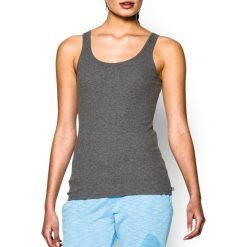 Bluzki damskie: Under Armour Koszulka damska Double Threat Tank Under Armour Carbon Heather r. XS (1253915090)