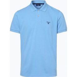 Gant - Męska koszulka polo – Rugger, niebieski. Niebieskie koszulki polo GANT, m, prążkowane. Za 299,95 zł.