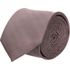 Krawaty męskie: krawat platinum brąz classic 202