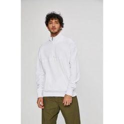 Review - Bluza. Szare bluzy męskie rozpinane marki Review, l, z bawełny, z krótkim rękawem, krótkie, bez kaptura. W wyprzedaży za 89,90 zł.