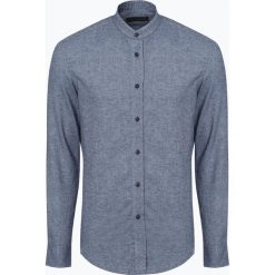 Drykorn - Koszula męska – Tarok, niebieski. Niebieskie koszule męskie jeansowe DRYKORN, m, z dekoltem karo. Za 379,95 zł.