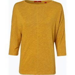 S.Oliver Casual - T-shirt damski, żółty. Żółte t-shirty damskie s.Oliver Casual, s, z dżerseju. Za 99,95 zł.