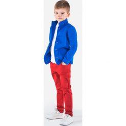 Bluzy chłopięce rozpinane: BLUZA DZIECIĘCA ROZPINANA BEZ KAPTURA KB002 - NIEBIESKA