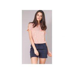 T-shirty z krótkim rękawem Only  NEW ISABELLA. Szare t-shirty damskie marki ONLY, s, z bawełny, casualowe, z okrągłym kołnierzem. Za 55,20 zł.