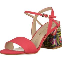 Rzymianki damskie: Skórzane sandały w kolorze różowym