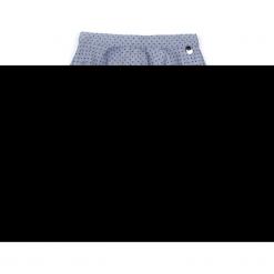 Spódnica. Szare spódniczki dziewczęce z falbankami CHIC UNIQUE, w koronkowe wzory, z bawełny. Za 54,90 zł.