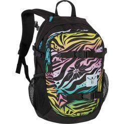"""Torebki i plecaki damskie: Plecak """"School"""" w kolorze czarnym ze wzorem – 30 x 48 x 18 cm"""