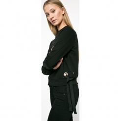 Tally Weijl - Bluza. Czarne bluzy rozpinane damskie TALLY WEIJL, l, z bawełny, bez kaptura. W wyprzedaży za 39,90 zł.
