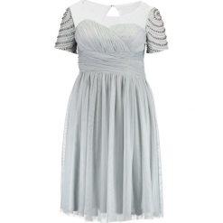Sukienki hiszpanki: Little Mistress Curvy WATERLILY Sukienka koktajlowa mint